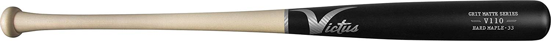 victus-v110-maple-grit-matte-reserve-naturalblack-3-baseball-bat-33-inch VMRWMV110-NTBK-33  819128027710 <p>Approximately -3 length to weight ratio Balanced Feel Traditional Knob Big
