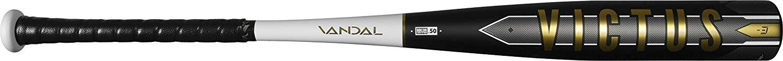 victus-vandal-bbcor-3-baseball-bat-30-inch-27-oz VCBV-3027 Victus 819128029455 One-piece aluminum hybrid design built with a carbon composite barrel-end taking