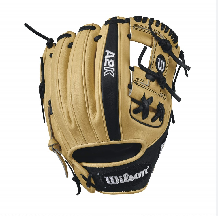 wilson-2017-a2k-1786-baseball-glove-blondeblack-11-5inch-right-hand-throw A2KRB171786-RightHandThrow Wilson B01I3AKRJW A2K 1786 - 11.5 Wilson A2K 1786 Infield Baseball Glove A2K