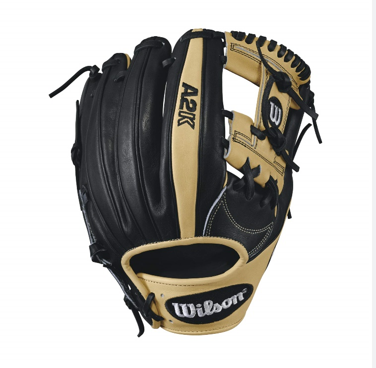 wilson-2017-a2k-1787-baseball-glove-blondeblack-11-75inch-right-hand-throw A2KRB171787-RightHandThrow Wilson 887768499204 A2K 1787 - 11.75 Wilson A2K 1787 Infield Baseball Glove A2K