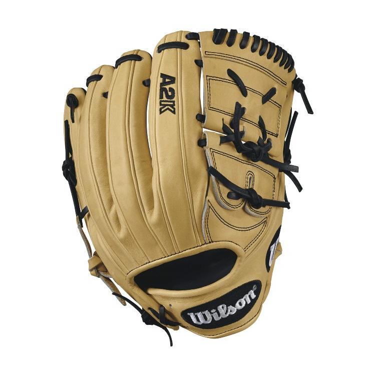 wilson-2017-a2k-b212-baseball-glove-blondeblack-12inch-right-hand-throw A2KRB17B212-RightHandThrow Wilson B01I3B8SBK A2K B212 - 12 Wilson A2K B212 Pitchers Baseball GloveA2K B212