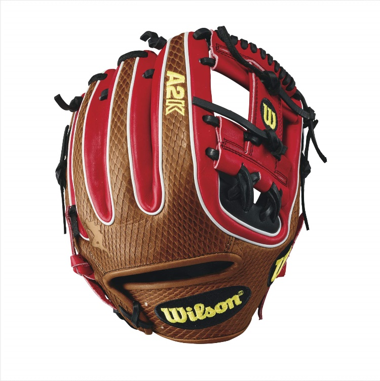 wilson-2017-a2k-brandon-phillips-game-model-baseball-glove-redsaddle-tan A2KRB17DTDUDE-RightHandThrow Wilson 887768499174 A2K DATDUDE GM - 11.5 Wilson A2K DATDUDE GM Infield Baseball