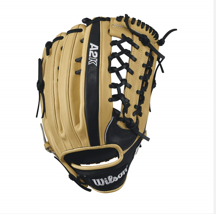 wilson-2017-a2k-kp92-baseball-glove-blondeblack-12-5inch-right-hand-throw A2KRB17KP92-RightHandThrow Wilson 887768499242 A2K KP92 - 12.5 Wilson A2K KP92 Outfield Baseball GloveA2K KP92