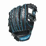 The 11.25 Wilson A1000 glove is made with the same innovation that drives Wilson Pro stock infield patterns. Wilson new A1000 line of ball gloves is built with Pro stock patterns you see in Major League stadiums everywhere, in a soft, but sturdy leather that's ready for game play right away. These A1000 models are made of hand-designed patterns from the Wilson Baseball team, optimized for quicker break-in so you can take the field with it right away.