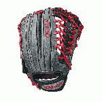The 12.5 Wilson A1000 glove is made with the same innovation that drives Wilson Pro stock outfield patterns, and is the right choice for the up-and-coming star ballplayer. This WTA10RB18KP92 is available in left- and right-hand throw and is made with a Pro laced T-Web. Wilson new A1000 line of ball gloves is built with Pro stock patterns you see in Major League stadiums everywhere, in a soft, but sturdy leather that's ready for game play right away. These A1000 models are made of hand-designed patterns from the Wilson Baseball team, optimized for quicker break-in so you can take the field with it right away.