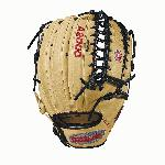 The A2000 OT6 from Wilson features a one-piece, six finger palmweb. It's perfect for outfielders looking for a longer glove with more feel and less rebound. Designed with Pro Stock Leather, the A2000 OT6 plays great with two fingers in the pinky stall. The most famous baseball glove, the Wilson A2000, just keeps getting better. Wilson Glove Master Craftsman, Shigeaki Aso, refines the Pro Stock patterns with the insights of hundreds of MLB players every season. The A2000 SuperSkin baseball glove series is built to break in perfectly and last for multiple seasons. It doesn't get better than that. - 12.75 Inch Outfield Model - Six Finger Trap Web - Pro Stock Leather - Dual Welting - DriLex Wrist Lining - Great for Two Fingers in the Pinky Stall