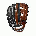 The A2K® 1721 is a new infield model to the Wilson A2K® line. Made with a Dual Post Web and Copper, Black and White Pro Stock Select leather, this glove is perfect for third basemen who want a glove that allows them to find the ball quickly, but still has the length to handle everything that comes their way at the hot corner.   divThe A2K®, Wilson's most premium series of baseball glove, is made with Pro Stock Select leather chosen for its consistency and flawlessness -- the ideal leather for a glove. Glove Master Craftsman Shigeaki Aso designs all gloves in the A2K® line with Rolled Dual Welting™ to provide long-lasting shape, Double Palm Construction for maximum pocket stability and extra shaping from our craftsmen so all A2K®s break in quicker and last longer.div