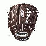 Wilson youth baseball gloves are intended for a younger, more advanced ball player who is looking to take their game to the next level. For the 2018 season, the A900 series is just what the doctor ordered to help get an edge on the diamond. Each model offers a cool, old-school look with the dark brown, full leather construction that comes game ready with absolutely zero break-in period. If you're sick and tired of having a sore wrist and knuckles from an extensive break-in, the A900 is just what you need. From day one, these baseball gloves are ready to go when you are. Plus, Wilson has applied their double palm construction on the front side of each design to help add extra stability and a low profile heel that allows for easier closure and less rebound on bad hops so that you can turn two without fail. Wilson: The Players' Choice! This Wilson A900 youth baseball glove (WTA09RB181175) features a popular 11.75-inch pattern, a pro laced T-web, and a conventional open back that offers a classic look. No matter if you're an infielder or a pitcher on the mound, this model is right for you. Don't forget, we're here from click to catch!.