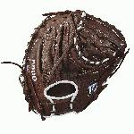 Wilson youth first base mitts are intended for a younger, more advanced ball player who is looking to take their game to the next level. For the 2018 season, the A900 series is just what the doctor ordered to help get an edge on the diamond. Each model offers a cool, old-school look with the dark brown, full leather construction that comes game ready with absolutely zero break-in period. If you're sick and tired of having a sore wrist and knuckles from an extensive break-in, the A900 is just what you need. From day one, these mitts are ready to go when you are. Plus, Wilson has applied their double palm construction on the front side of each design to help add extra stability and a low profile heel that allows for easier closure and less rebound on bad hops so that you can make that scoop at first base without fail. Wilson: The Players' Choice! This Wilson A900 youth catcher's mitt (WTA09RB18CM34) features a large 34.00-inch pattern, a half moon web, and a conventional open back that offers a classic look. Remember, we're here from click to catch!. !-- Used to set table width because AUI is overriding the width attribute of the tables coming in description --