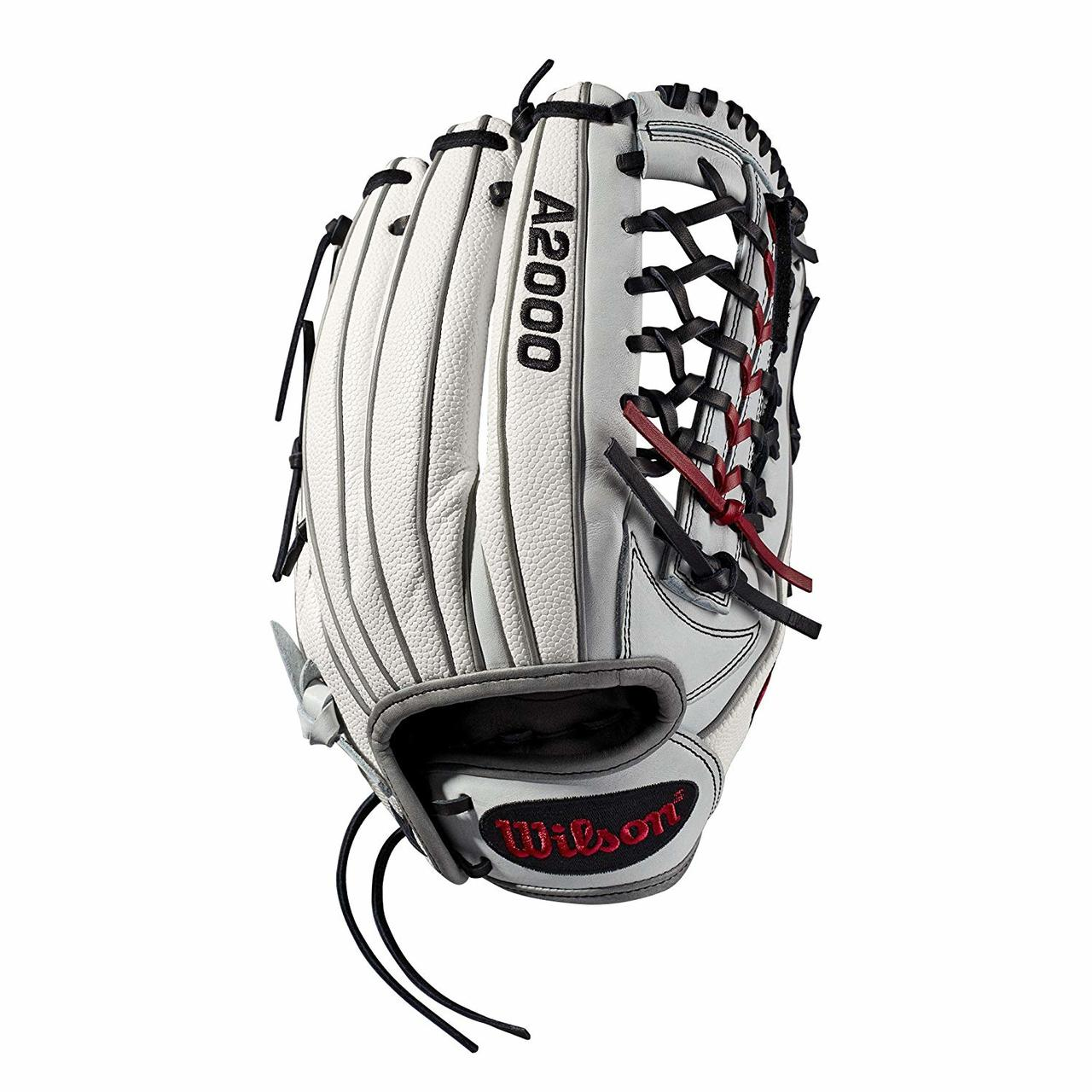 wilson-2019-a2000-fasptich-softball-glove-12-5-right-hand-throw WTA20RF19T125SS-RightHandThrow Wilson 887768702168 Outfield model; fast pitch-specific model; Pro-Laced T-Web New Drawstring closure for
