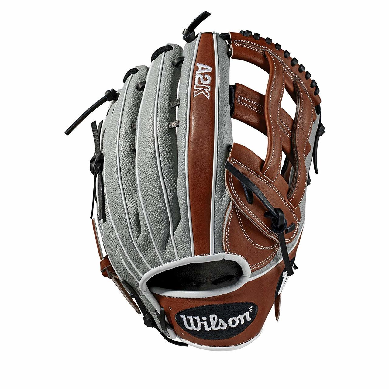 wilson-2019-a2k-superskin-1799-baseball-glove-12-75-right-hand-throw WTA2KRB191799SS-RightHandThrow  887768701857 Outfield model; dual post web; available in right- and left-hand Throw