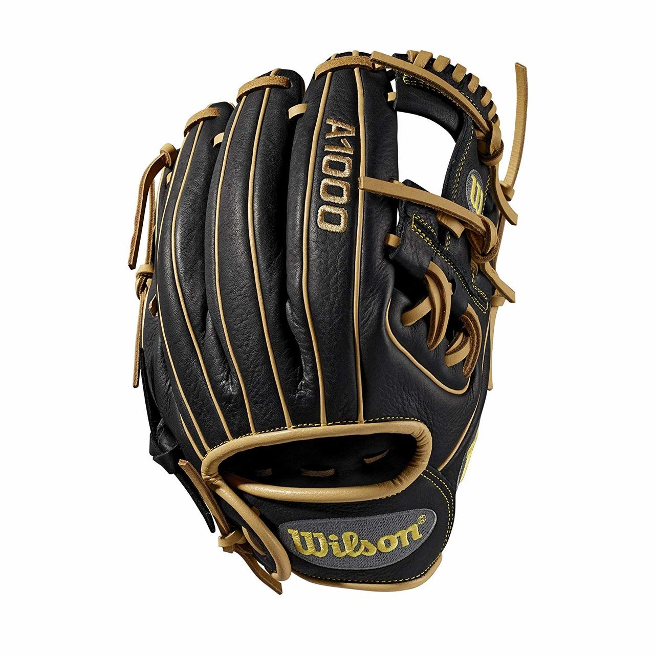 wilson-a1000-baseball-glove-dp15-11-5-right-hand-throw WTA10RB19DP15-RightHandThrow Wilson 887768710873 11.5 inch Baseball glove Made with pedroia fit for players with