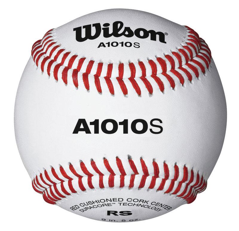 wilson-a1010-blem-baseballs-5-doz-with-bucket A1010BLEM-5BUCKET Wilson  Professional Quality Baseball Very Minor Blemish Great Practice Ball. Model A1010S