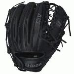 Wilson A1K BB4 OTIF 11.5 inch Baseball Glove (Right Handed Throw) : Wilson's A1k series takes the patterns and construction used for the pros gloves and updates them to offer more snug fit. The A1K features the DP 15 Fit which includes a smaller wrist opening and narrower finger stalls along with other updates. Jet Black Top Shelf leather and gunmetal embroidery make for a gloves that looks as good as it fits.