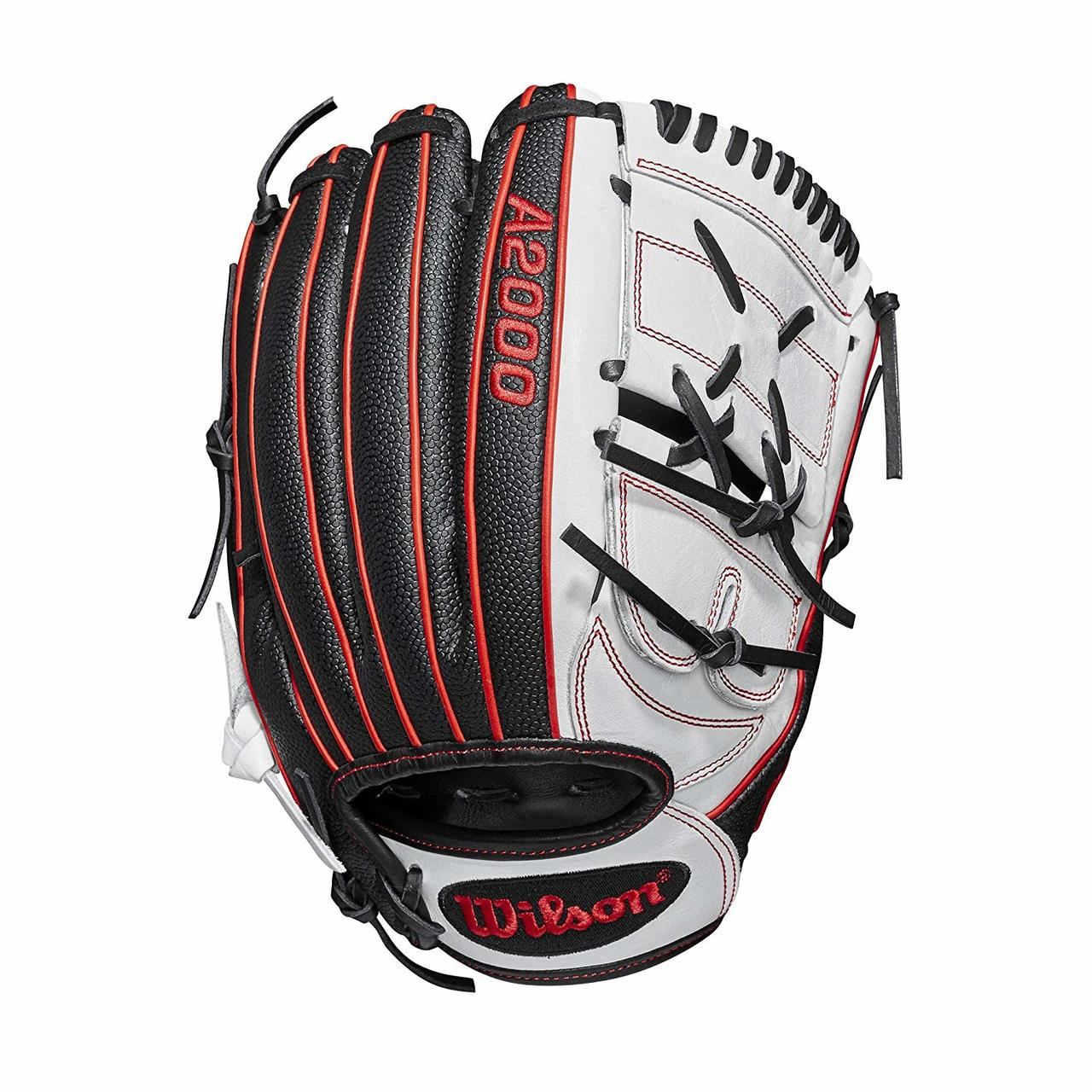 wilson-a200-fast-pitch-softball-glove-monica-abbot-12-25-right-hand-throw WTA20RF19MA14GM-RightHandThrow Wilson 887768732240 12.25 pitchers glove 2-piece web Black SuperSkin twice as strong as