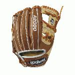A2000 1786 - 11.5 Wilson A2000 1786 Infield Baseball Glove A2000 1786 11.5 Infield Baseball Glove - Right Hand Throw WTA20RB171786 Experience the the A2000 1786 -- the most popular Wilson A2000 with MLB infielders. This saddle tan, blonde and white glove is favored by MLB players Zack Cozart and Elvis Andrus for its shallow and stable pocket. The A2000 1786 allows you to get the ball in, out, and keep your ankles intact when you turn two.Constantly improving patterns. Materials that perform. Meticulous dependable construction. The evolution of the A2000 baseball glove has been driven by insights from the Wilson Advisory Staff. This is why hard working players love its unmatched feel, rugged durability and perfect break-in.11.5 Infield ModelH-WebPro Stock Leather for a long lasting glove and a great break-inDual Welting for a durable pocketDriLex Wrist Lining to keep your hand cool and dry InfieldRHT 11.5 H-Web Pro Stock Leather