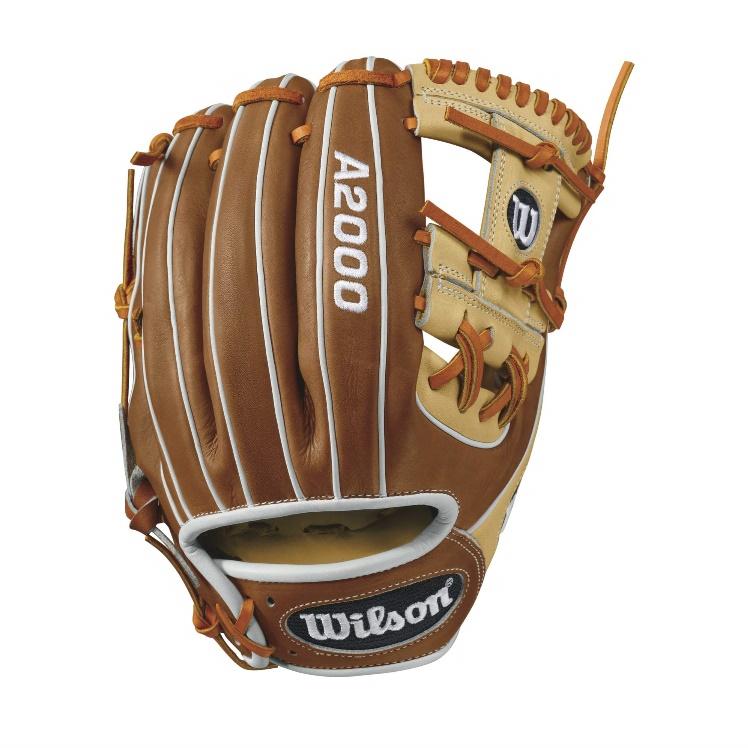 wilson-a2000-1786-infield-baseball-glove-blondetanwhite-11-5inch-right-hand-throw A20RB171786-RightHandThrow Wilson 887768499341 A2000 1786 - 11.5 Wilson A2000 1786 Infield Baseball Glove A2000
