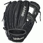 11.75 inch Infield Model H-Web Pro Stock Leather for a long lasting glove and a great break-in Dual Welting for a durable pocket DriLex Wrist Lining to keep your hand cool and dry Extend your reach with the Black and Grey Wilson A2000 1787. A popular middle infield & third base model, this glove is perfect for dual position players.  It features a shallow pocket that allows for a longer range and is often broken in with a flattened, flared shape. Developed with an H-Web, this glove gives every player game changing performance.   The most famous baseball glove, the Wilson A2000, just keeps getting better. Wilson Glove Master Craftsman, Shigeaki Aso, constantly refines the Pro Stock patterns with the insights of hundreds of MLB players every season. Made with Pro Stock leather, the A2000 baseball glove is built to break in perfectly and last for multiple seasons. It's the perfect ball glove for hard working players.