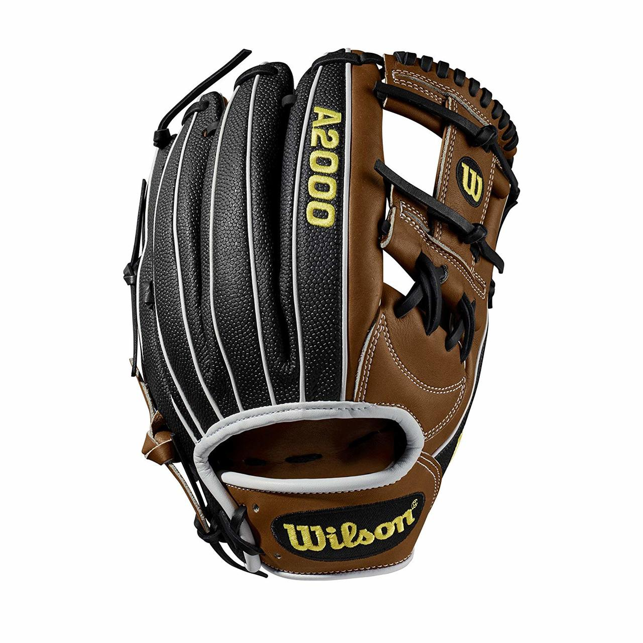 wilson-a2000-1787ss-11-75-baseball-glove-2019-right-hand-throw WTA20RB191787SS-RightHandThrow Wilson 887768701949 nfield model; H-Web Double lacing at the base of the web