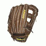 "Wilson A2000 Outfield Baseball Glove 1799 and 12.75 inches. Wilson 12.75 inch Outfield Model. Dual Post Web. Pro Stock Leather for a long lasting glove and a great break-in. Dual Welting for a durable pocket. DriLex Wrist Lining to keep your hand cool and dry. A favorite of some of Major League Baseball's best outfielders, the Wilson A2000 1799 Baseball Glove features a large 12.75"" Outfield Dual Post pattern that is known for its reinforced and deep pocket. The 1799 A2000 Baseball Glove is constructed from Wilson's amazing Pro Stock Leather that provides the performance MLB players demand game after game. The Wilson A2000 1799 Baseball Glove also comes equipped with Dual Welting down the back of the fingers and the web for added pocket and finger strength. So whether you are scrapping on Sundays with your buddies or playing next to Jonny Gomes of the Oakland A's, the Wilson A2000 1799 Baseball Glove will be there to help you get the job done."