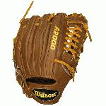 1.75 Pitcher Model Pro Laced T-Web Pro Stock(TM) Leather for a long lasting glove and a great break-in Dual Welting(TM) for a durable pocket DriLex® Wrist Lining to keep your hand cool and dry Available in right hand throw and left hand throw Wilson Ball Gloves The Wilson A2000 puts unbeatable craftsmanship in the palm of your hand. Wilson spent countless hours working with MLB players to further refine the glove that has outperformed and outlasted all others for almost 60 years. This line is expertly constructed with world famous Pro Stock Leather to provide durable performance game after game. The result-the perfect glove for hardworking players everywhere. Wilson Pro Stock Gloves Wilson Pro Stock Patterns are used by the pros. The best ball glove leather out there. Glove technicians devoted to hand crafting the hardest working gloves in the game. It's no surprise that Major League Baseball players choose to use Wilson to get them through a 160 game season. The same patterns, leather, and craftsmanship go into every Wilson Pro Stock glove whether it's made for play on an MLB field or your local diamond. Choose Your glove. Wilson Ball Gloves ... Working Hard With You This is a game of determination. It's a game of hard work. Through every inning, every game, every season. As you push your limits, your Wilson ball glove is there ready to perform. Wilson has worked with the best players for over seventy five years to give every ball player—from the major leaguers to the travel ball warriors—exactly what they need to make it to the next level.