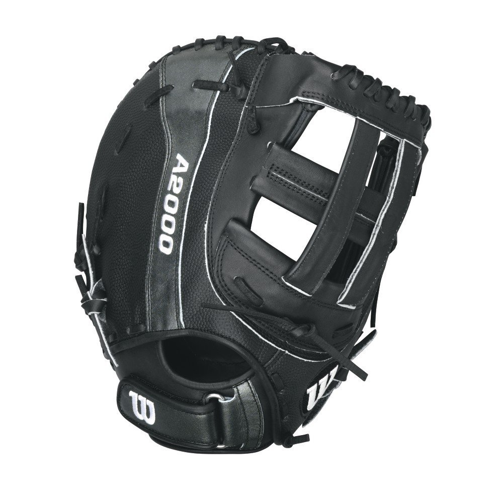 wilson-a2000-b-first-base-fastpitch-softball-glove-12-25-right-hand-throw WTA20RF15B14SS-RightHandThrow  887768251826 12.25 Model 1st base Model Dual Post Web Pro Stock Leather