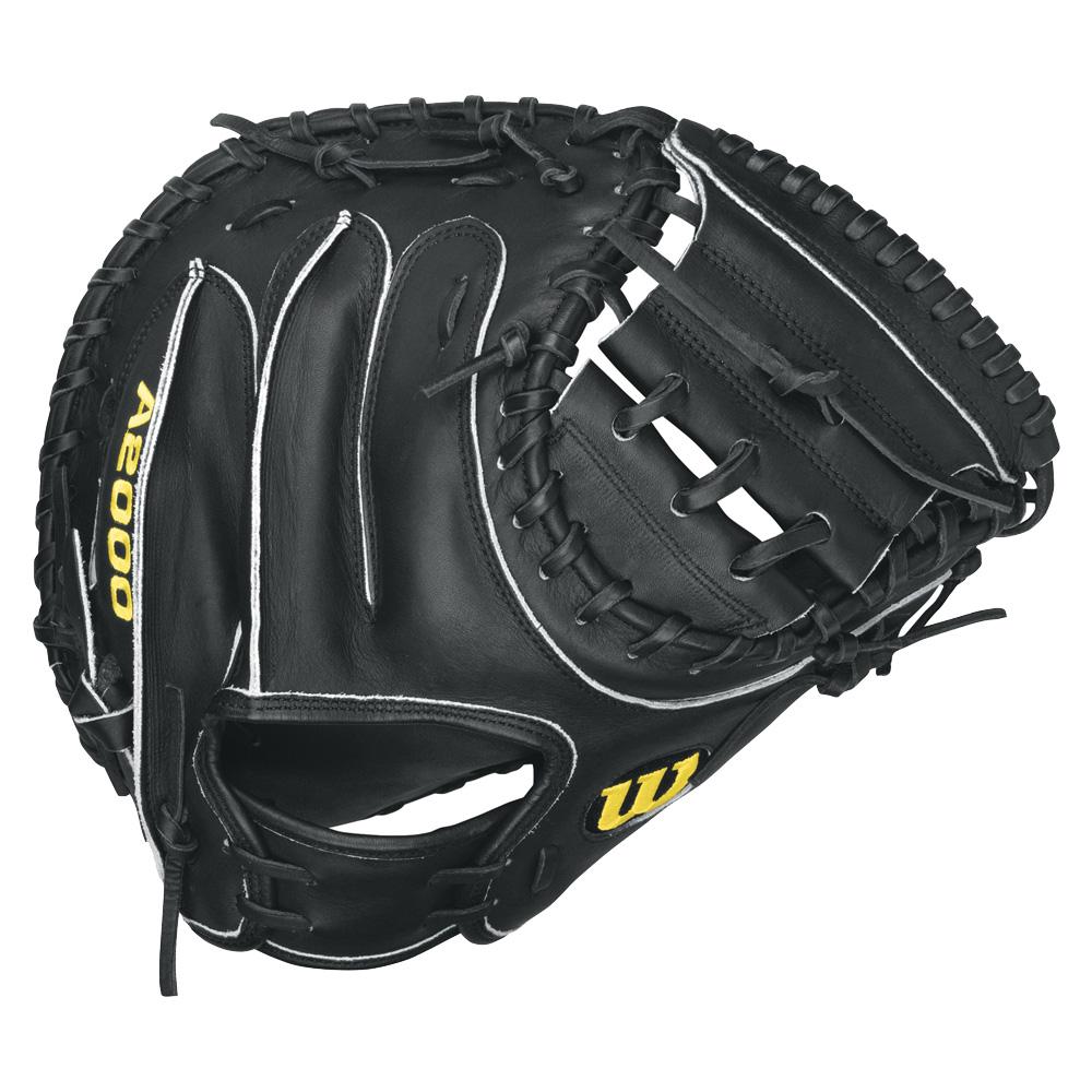 wilson-a2000-baseball-catchers-mitt-black-right-hand-throw-33-inch-1 A20RB15CM33-Right Handed Throw Wilson 887768251673 Wilson A2000 Catchers Mitt