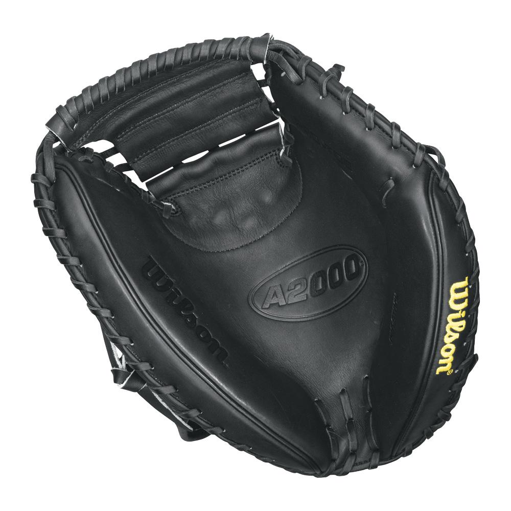 wilson-a2000-baseball-catchers-mitt-black-right-hand-throw-33-inch A20RB15CM33-Right Hand Throw Wilson 887768251673 Wilson A2000 Catchers Mitt