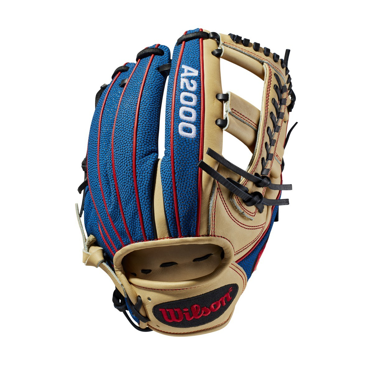 wilson-a2000-baseball-glove-11-75-right-hand-throw-1785 WTA20RB19LENOV-RightHandThrow Wilson 887768764661 Talk about a head-turner. This Blonde Pro Stock Leather-Blue SuperSkin custom