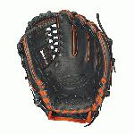 "Wilson A2000 Baseball Glove 11.25 inch 1788A. Black Pro Stock Leather with Orange Welting and Binding. DriLex Wrist Lining to keep your hand cool and dry. Dual Welting for a durable pocket. Laced A-Web. Pro Stock Leather for a long lasting glove and a great break-in. The preferred model of Milwaukee Brewers second baseman Rickie Weeks, the Wilson A2000 1788A Baseball Glove is a smaller 11.25"" infield model that comes with the rare laced A-web. The Wilson A2000 1788A Baseball Glove is constructed using black Pro Stock leather that combines with orange dual welting and binding to make not only a flashy glove but also a glove that is extremely durable with an amazing shape. The dual welting is used down the back of the fingers to provide extra strength and a proper shape to the fingers. The wrist on the Wilson A2000 1788A features DriLex lining designed to keep your hand cool and dry. 11.25 inch Infield Model Baseball Glovew with Laced A-Web. Black Pro Stock Leather with Orange Welting and Binding. Pro Stock Leather for a long lasting glove and a great break-in. Dual Welting for a durable pocket. DriLex Wrist Lining to keep your hand cool and dry. Wilson A2000 1788A Baseball Glove 11.25 inch A20RB151788A."
