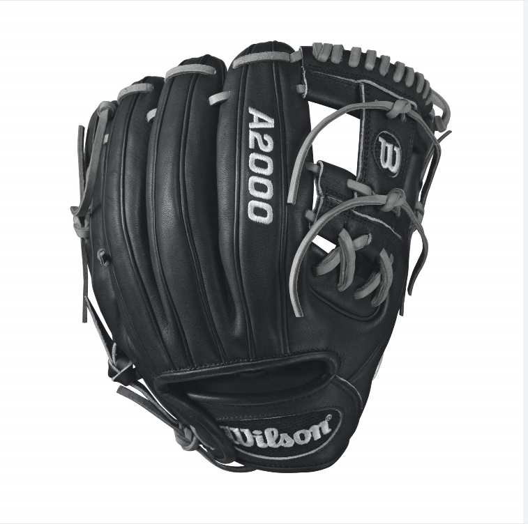 wilson-a2000-dp15-infield-baseball-glove-blackwhite-11-5inch-right-hand-throw A20RB17DP15-RightHandThrow Wilson 887768499358 A2000 DP15 - 11.5 Wilson A2000 DP15 Dustin Pedroia Infield Baseball