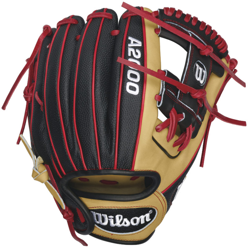 wilson-a2000-dp15ss-fielding-glove-11-5-right-handed-throw-a20rb16dp15ss-baseball-glove A20RB16DP15SS-Right Hand Throw Wilson 887768359737 Work the field with Dustin Pedroias 2016 A200 DP15 SS now