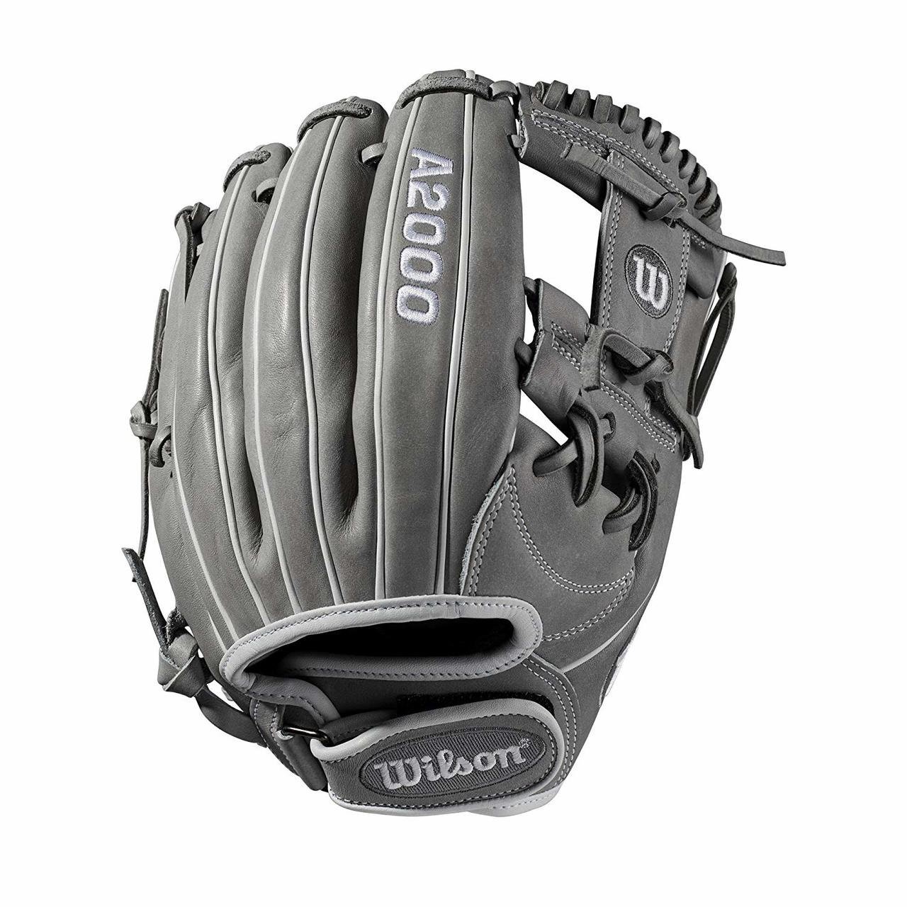 wilson-a2000-fasptich-softball-glove-11-75-h-web-right-hand-throw WTA20RF1175-RightHandThrow  887768702106 nfield model; H-Web; fast pitch-specific WTA20RF191175 Comfort Velcro wrist closure for