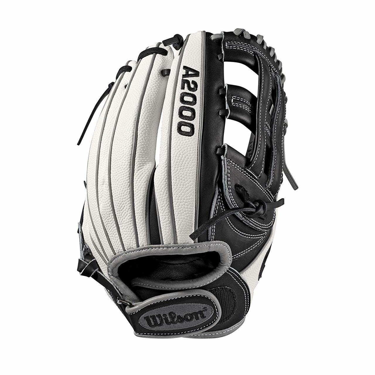 wilson-a2000-fastpitch-softball-glove-12-dual-post-web-right-hand-throw WTA20RF19FP12SS-RightHandThrow Wilson 887768702120 Infield/Pitcher model; dual post web; fast pitch-specific WTA20RF19FP12SS Comfort Velcro wrist