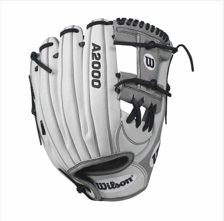 wilson-a2000-h12-fastpitch-glove-whitegray-12inch-right-hand-throw A20RF17H12-RightHandThrow Wilson 887768499549 A2000 FP12 - 12 Wilson A2000 FP12 12 Infield Fastpitch GloveA2000