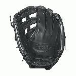 Wilson A2000 IF SS Fast Pitch Softball Glove. 12 Inches. The black and gunmetal grey A2000 FP12 SS was developed with Wilson's Pro Stock® leather for unmatchable durability and SuperSkin™ to make the glove as light as possible so nothing holds you back from making the play.  Great for middle infielders and pitchers, this 12 model features an extremely stable dual post web that creates a pocket that is perfect for dual position players. We aren't kidding when we say that the Wilson® Fastpitch A2000® was completely redesigned for 2015.   Wilson Glove Master Craftsman Shigeaki Aso developed all new patterns with the Custom Fit System to position your hand more comfortably in the glove.  He rebuilt the Comfort Velcro Wrist closure to offer a more secure fit and added DriLex™ to wick moisture from your wrist.  He also found the perfect material to use for the D-Fusion pad located just below the pocket to create a No Sting Catch Zone without sacrificing feel.  You'll feel the difference as soon as you put the all new Wilson Fastpitch A2000 on your hand. 12 Inch Infield Model. Dual Post Web. Fastpitch-specific model. New Comfort Velcro Wrist Closure for a secure and comfortable fit. D-Fusion pocket pad creates No Sting Catch Zone. Pro Stock Leather combined with SuperSkin for a light, long lasting glove and a great break-in. Dual Welting for a durable pocket.