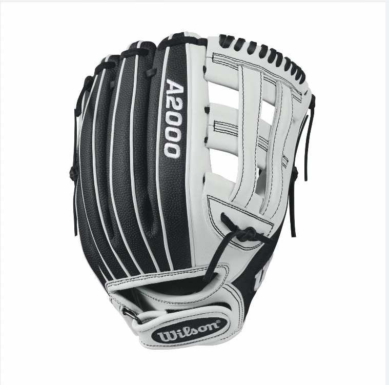 wilson-a2000-if12-superskin-fastpitch-glove-blackwhite-12inch-right-hand-throw A20RF17IF12SS-RightHandThrow Wilson 887768499532 A2000 FP12 SS - 12 Wilson A2000 FP12 Super Skin 12