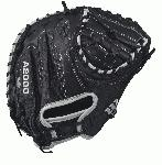 A2000 M1 SS - 33.5 Wilson A2000 M1 Super Skin Catchers Baseball Glove A2000 M1 Super Skin 33.5 Catchers Baseball Glove - Right Hand Throw WTA20RB17M1SS The 33.5 Wilson A2000 M1 SS features an extended palm to help reduce rebound. Developed with black Pro Stock Leather combined with Super Skin, the A2000 M1 is a light, long lasting glove with a great break-in. The A2000 Super Skin baseball glove series is the utility player of the Wilson lineup. A versatile mix of Pro Stock Leather and man-made Super Skin makes the glove stonger, lighter and easier to break in that the all-leather A2000. 33.5 Catcher's ModelHalf Moon WebExtended PalmPro Stock Leather for a long lasting glove and a great break-inDriLex Wrist Lining to keep your hand cool and dryCatcherRHT 33.5 12 moon webPro Stock Leather A2K 1791A2000 CM33 A2000 T-shirtWilson Glove Care KitAso-San Glove Mallet Aso breaks in a Catchers Mitt