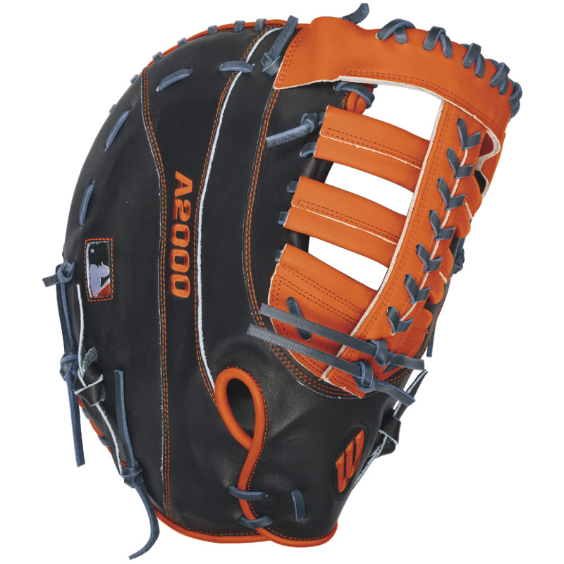 Pro StockATM leather for a long-lasting glove and a great break-in Dual-WeltingATM offers a pre-curved finger design that helps maintain a stable and durable pocket Dri-LexA wrist lining to keep your hand cool and dry Miguel Cabrera game model Pro Stock patterns. Wilson A2000 Miguel Cabrera Game Model 12 First Base Glove Perennial Excellence Through Innovation Constantly improving patterns. Materials that perform. Meticulous and dependable construction. The evolution of Wilson A2000 baseball gloves has been driven by insights from the Wilson Advisory Staff. This is why hard working players love its unmatched feel, rugged durability and perfect break in. Wilson A2000 Miguel Cabrera Game Model 12 First Base Gloves feature: Pro StockATM leather for a long-lasting glove and a great break-in Dual-WeltingATM offers a pre-curved finger design that helps maintain a stable and durable pocket Dri-LexA wrist lining to keep your hand cool and dry Miguel Cabrera game model Pro Stock patterns Open back 1-Year Warranty Wilson The Official Ball Glove Of Major League Baseball.