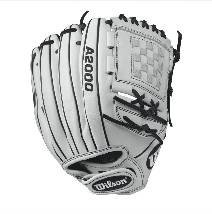 wilson-a2000-p12-fastpitch-glove-whiteblack-12inch-right-hand-throw A20RF17P12-RightHandThrow Wilson 887768499556 A2000 P12 - 12 Wilson A2000 P12 12 Pitchers Fastpitch Glove