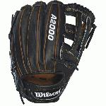 Cover the diamond with the new A2000 PP05 Baseball Glove. Featuring a Dual-Post Web, this 11.5 inch glove is perfect for middle infielders. Comes in a classic Black and Saddle Tan with our famous ProStock Leather. The most famous baseball glove, the Wilson A2000, just keeps getting better. Wilson Glove Master Craftsman, Shigeaki Aso, constantly refines the Pro Stock patterns with the insights of hundreds of MLB players every season. Made with Pro Stock leather, the A2000 baseball glove is built to break in perfectly and last for multiple seasons. It's the perfect ball glove for hard working players. Throwing Hand RIGHT. Glove size: 11.50 inch. 11.5 Infield Model. Dual Post Web. Pro Stock Leather for a long lasting glove and a great break-in. DriLex Wrist Lining to keep your hand cool and dry. When developing the A2000, Wilson spent countless hours working with MLB infielders to alter the glove for their specific position. The Pro Stock leather provides a durable performance game after game.
