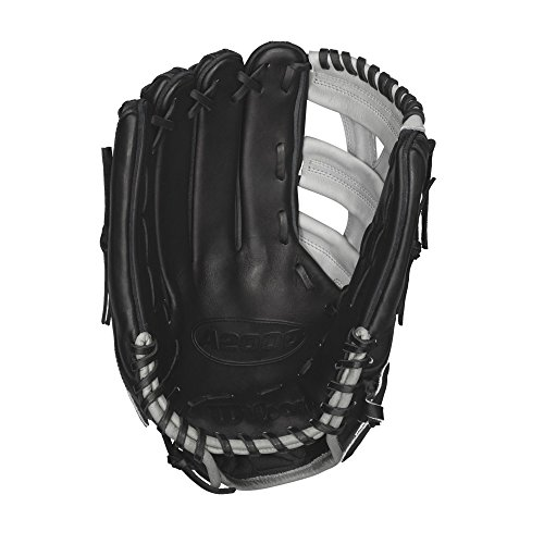 wilson-a2000-puig-game-model-blgr-12-75-baseball-glove-right-hand-throw A20RB15YP66GM-Right Hand Throw Wilson 887768251550 Wilson Puig Game Model A2000 Baseball Glove.