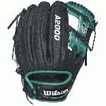 Robinson Cano has played in five consecutive All Star Games, and he leads all active second basemen in double plays turned. The key to all those double plays - speed. Quick hands. Quick feet. Quick transitions. To help with quick transitions, Cano keeps his A2000 RC22 GM basebal glove light by using SuperSkin in all the right places. In a game of milliseconds, every ounce counts. The most famous baseball glove, the Wilson A2000, just keeps getting better. Wilson Glove Master Craftsman, Shigeaki Aso, refines the Pro Stock patterns with the insights of hundreds of MLB players every season. Made with Pro Stock leather and SuperSkin, the A2000 SuperSkin baseball glove series is built to break in perfectly and last for multiple seasons. SuperSkin is stronger and lighter than leather, so it makes for a glove with a quicker break in that lowers reaction time and repels moisture. It doesnt get better than that.  Throwing Hand RIGHT 11.50 inch. 11.5 inch. Infield Model H-Web Pro Stock Leather combined with SuperSkin for a light, long lasting glove and a great break-in Dual Welting for a durable pocket. DriLex Wrist Lining to keep your hand cool and dry. Throwing Hand Right Age Group Adult Position Infield