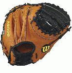 A2000 Pudge - 32.5 Wilson A2000 PUDGE Catcher Baseball GloveA2000 PUDGE 32.5 Catcher s Baseball Glove - Right Hand ThrowWTA20RB17PUDGEThe A2000 Pudge catcher's mitt was built from input of one the game's greatest catchers, Ivan Rodriguez. With his insights, Wilson made a 32.5 glove with a wider 12 Moon Web along with a stiffer thumb and extended palm for increased mobility and durability, as well as reduced rebound. The Dri-Lex wrist lining helps move moisture away from your skin to keep you cool and comfortable through every inning. Constantly improving patterns. Materials that perform. Meticulous dependable construction. The evolution of the A2000 baseball glove has been driven by insights from the Wilson Advisory Staff. This is why hard working players love its unmatched feel, rugged durability and perfect break-in.32.5 Catcher's ModelHalf Moon WebPro Stock Leather for a long lasting glove and a great break-inDual Welting for a durable pocketDriLex Wrist Lining to keep your hand cool and dry CatcherRHT12 Moon WebPro Stock Leather A2000 1790 SS A2000 CM33 Wilson A2000 T-Shirt A2000 Glove Care Kit Aso-San Glove Mallet Aso breaks in a Catchers Mitt