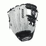 Fastpitch-specific WTA20RF171175 New comfort Velcro wrist closure for a secure and comfortable fit D-Fusion pocket pad creates no sting catch zone Pro stock leather for a long lasting glove and a great break-in Dual welting for a durable pocket Product Description The 11.75 Wilson A2000 is the ideal length for fastpitch middle infielders. Its shallow pocket allows you to quickly find the ball and transfer it from glove to hand so you can make the play. The Fastpitch A2000 lineup is created with the Custom Fit System so that every fastpitch player can have a glove that fits her hand, no matter how tight she wears it. The superior feel and durability come from the premium Pro Stock Leather that breaks in perfectly and lasts from one season to the next. D-Fusion padding is added just below the pocket to absorb the shock of hard line drives and screaming throws. - 11.75 Inch Model - Fastpitch-Specific Infield Model - New Comfort Velcro Wrist Closure - D-Fusion Pocket Pad - Pro Stock Leather - Dual Welting