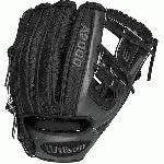 Wilson's superskin A2000 gloves have Pro Stock leather with a stronger, lighter, and softer man-made material, superskin used on the back of the glove.