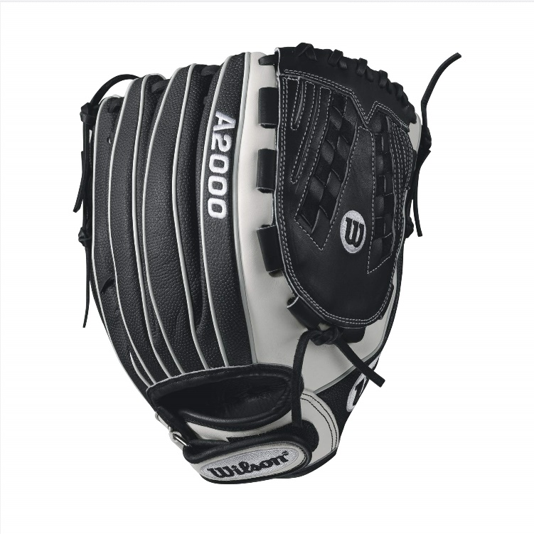 wilson-a2000-v125-superskin-fastpitch-glove-blackwhite-12-5inch-right-hand-throw A20RF17V125SS-RightHandThrow Wilson 887768499563 A2000 V125 SS - 12.5 Wilson A2000 V125 Super Skin 12.5