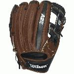 A popular middle infield & third base model, the A2K 1787 baseball glove is perfect for dual position players.  It features a shallow pocket that allows for a longer range and is often broken in with a flattened, flared shape. Constructed with Jet Black, Dark Brown and Blonde Pro Stock Select Leather, this glove gives every player game-changing performance. The A2K is the most premium baseball glove available from Wilson. It is made with ProStock Select leather which is chosen for its consistency and flawlessness making it the ideal leather for a baseball glove. Glove Master Craftsman, Shigeaki Aso designed this line with Rolled Dual Welting, Double Palm Construction and more craftsman shaping so that the A2K breaks in quicker and lasts longer. Throwing hand RIGHT glove size 11.75 inch Infield Model. H-Web Pattern. Pro Stock Select Leather. 2X Palm Construction provides maximum pocket stability. Rolled Dual-Welting for quicker break in. 3X more craftsman shaping at the factory means your glove is pounded and shaped by a master technician at the factory, reducing break in time for you. Throwing Hand Right. Age Group Adult. Position Infield