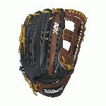 Get extreme reach with Wilson's largest outfield model, the A2K 1799. At 12.75 inch, it is favored by MLB players including All-Star Carlos Beltran for its incredible length and deep pocket. The reinforced dual post web keeps the glove in great condition well after it's broken in so you can use it season after season.The A2K is the most premium baseball glove available from Wilson. It is made with ProStock Select leather which is chosen for its consistency and flawlessness making it the ideal leather for a baseball glove. Glove Master Craftsman, Shigeaki Aso designed this line with Rolled Dual Welting, Double Palm Construction and more craftsman shaping so that the A2K breaks in quicker and lasts longer. Pro Stock Select Leather for a long lasting glove and a great break-in Dual Welting for a durable pocket. DriLex Wrist Lining to keep your hand cool and dry.