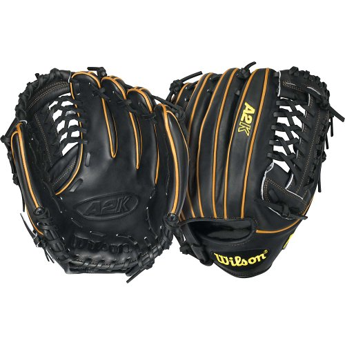 wilson-a2k-bb4-cjw-pitcher-baseball-glove-black-tan-12-in-right-handed-throw A2KBB4CJW-Right Handed Throw Wilson New Wilson A2K BB4 CJW Pitcher Baseball Glove Black Tan 12 in